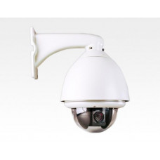 "6"" High Speed Outdoor-Dome 960H D Autofocus 22x Zoom Kamera / inkl. Netzteil und Wandarm 4-88mm 650TVL"