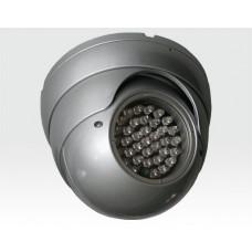 IR-LED Scheinwerfer Anti-Vandal 40m 15Grad  IP68 12VDC / 36 IR-LEDs integr. Dämmerungsschalter