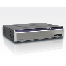 8 CH IP Rekorder  LAN Easy Plug&Play integr. PoE Switch / 200fps@1080p 8x FullHD DualStream 5xHDD