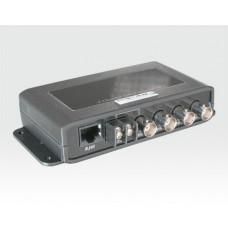 HQ BALUN 4 Kanal Video Transceiver 4xBNC f - 1 RJ45 f,  DATA