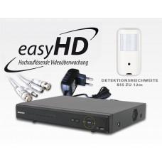 SPY- Videoüberwachungsset Bewegungsmelderkamera 04XVR Rekorder / easyHD Kabel&NT jetzt mit VIVCMV*04XVR