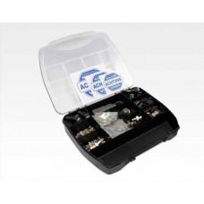 VIDEOTECHNIK BNC Sortimentbox Kupplung & Stecker schraubbar