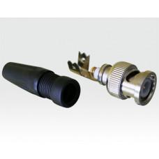 BNC-Stecker mit schraub-PIN - VE 10