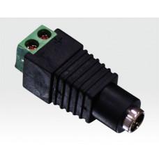 DC-Gerätekupplung mit Schraubklemmen