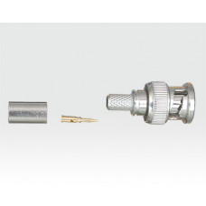 BNC Crimpstecker für mini Koax - VE 10