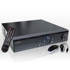 "8 Kanal Digitaler Video Rekorder H.264 D1 Realtime DualStream / 19"" Rack Einbau, VGA HDMI SmartPhone"