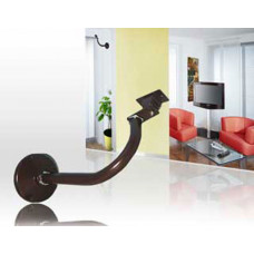 Wand/Deckenhalter mit Drehkopf für Schutzgehäuse / Robuste Ausführung