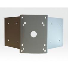 Eckmontageplatte universal zur Wandarm-Montage
