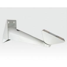 Wandarm für Kameraschutzgehäuse robuster Gelenkkopf / 205mm TK 10Kg Aluminium beige