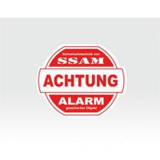Alarm-Sticker klein