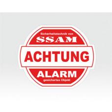 Alarm-Sticker mittel