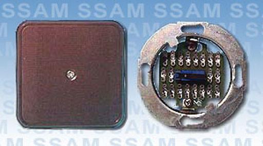 Alarm-Verteiler UP 9-polig mit Lötstiften