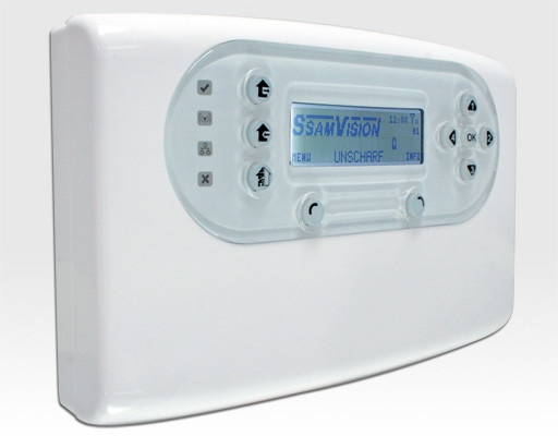 Alarmzentrale Funk 868MHz 30 Melderzonen mit GSM/GPRS-Modul / MMS-Kit Zentrale EN50131 Grad2