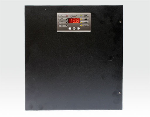 13,8VDC/5A Netzteil im Metallgehäuse 335x335x108mm mit Display / für I und U, max. 17Ah, Fernabfrage