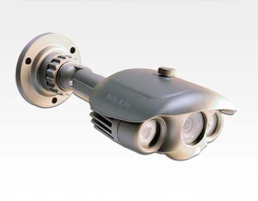 "1/3"" SONY CCD Day&Night Aussenkamera mit IR Power LEDs / 700TVL 4mm IR60m IP66"