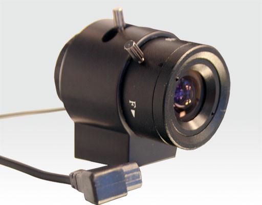 "1/3"" Objektiv 3,5 - 8mm DD Iris"