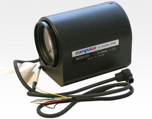 "1/2""Objektiv 8-48mm DC, 2 Motoren / 1/2"" C 8-48 F1.2-560 DC Auto Iris, Spot"