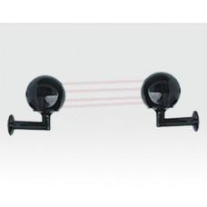 Infrarotlichtschranke 2x2 Strahlen 100m/300m Kugelgehäuse