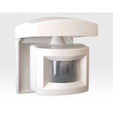 Bewegungsmelder verdrahtet mit PIR Element, Außen, 230V Relais / Long Range 27m, Dämmerungsschalter