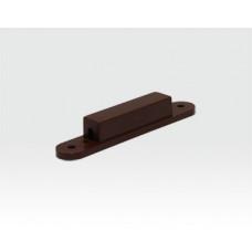 Einbauwanne für 8mm Einbohr Magnetkontakte Braun / VE 10 Stück