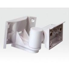 Halter 2 Axen für DG85 und PMD85 Serie weiß / Decken-, Wand- und Eckmontage