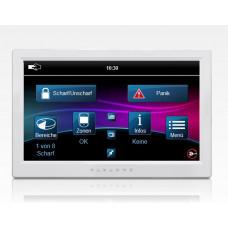 """Bedienteil BUS TouchDisplay 7"""" weiß inkl. Lageplan Opt. / EN50131 Grad3 EVO MG5 SP"""