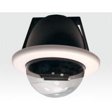 """6"""" Domegehäuse mit Kameraattrappe für Deckeneinbau / Identisch mit handelsüblichen Produkten"""