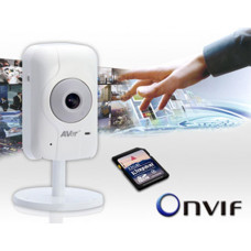 Aver IP-CAM  H.264 4.3mm mcSD Slot 2MP IntelliStream / MobileViewer Onvif RTSP 2Way Audio