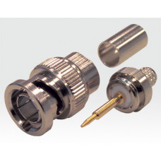 BNC Crimp Stecker fixer PIN - VE 10