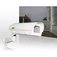 Wetterschutzgehäuse Outdoor Heizung 230V inkl. Wandarm / integriertes Kabelmanagement