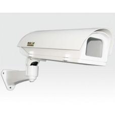 Wetterschutzgehäuse Outdoor für IP Kameras Heizung PoE versorgt / Wandarm-Kabelmanagement, Anti beschlag