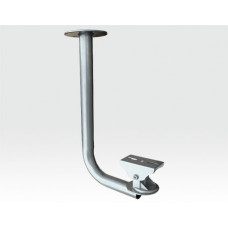 Deckenhalter für Kamera o. Gehäuse robuster Gelenkkopf silver / 350mm x 180mm (H x L) TK 10Kg