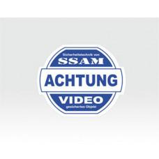 Video-Sticker klein