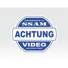 Video-Sticker mittel
